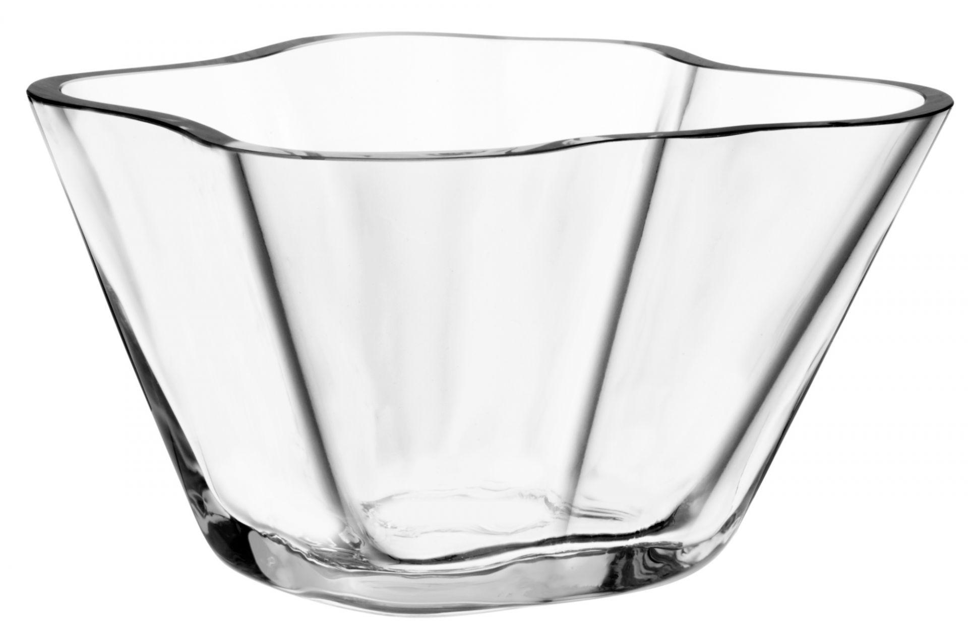 Alvar Aalto bowl clear 75mm Iittala