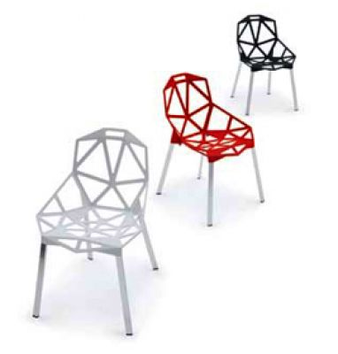Chair One 4-Fuß Stuhl 2-er Pack Magis