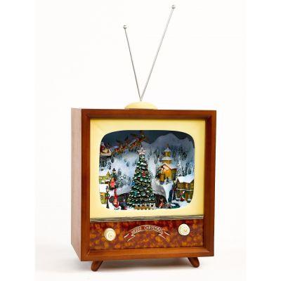 Christmas decoration TV big Timstor