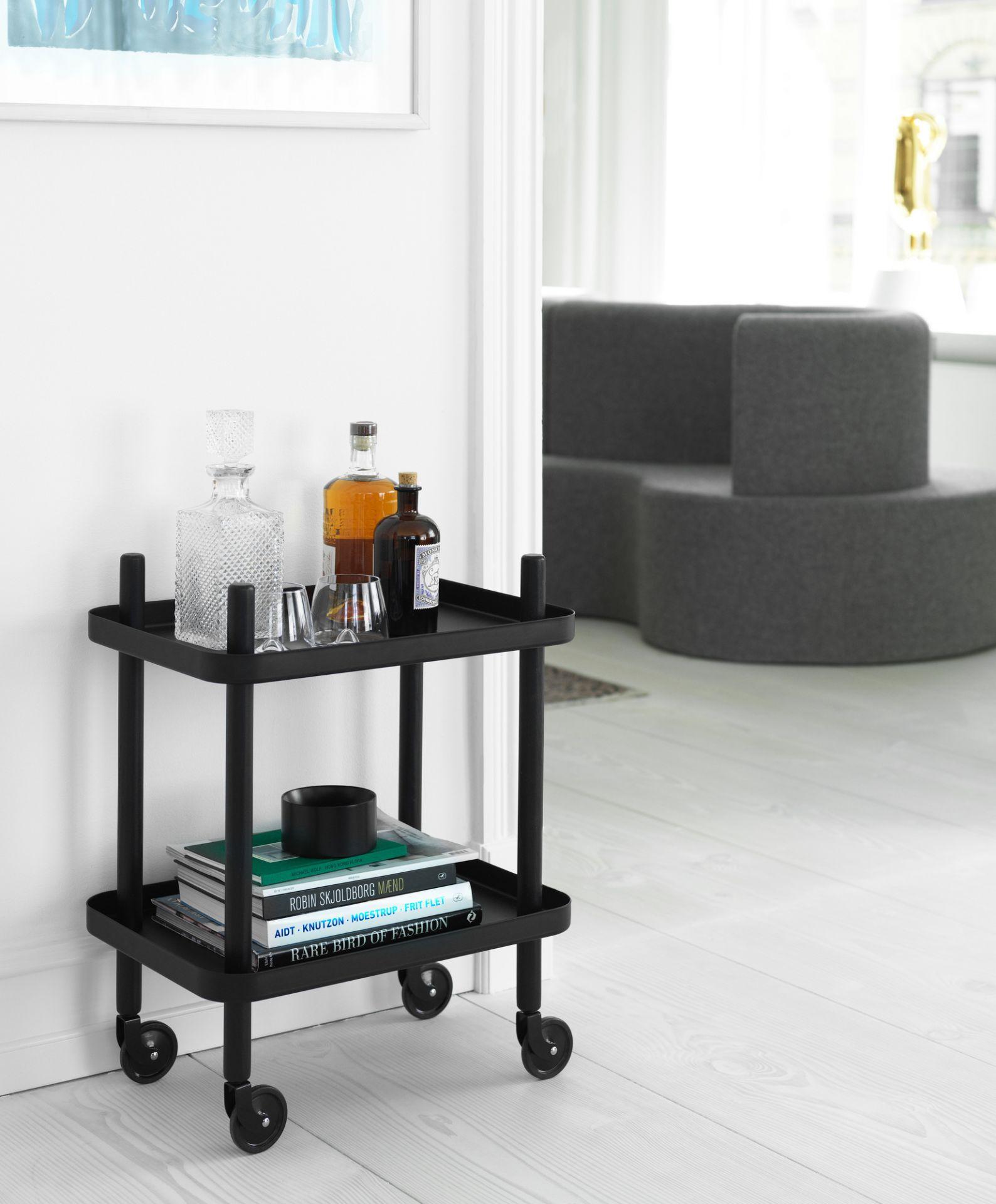 Block Table Serving dare Normann Copenhagen Black-Black