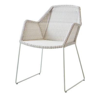 Breeze Outdoor Stuhl Kufengestell weiß Cane-Line