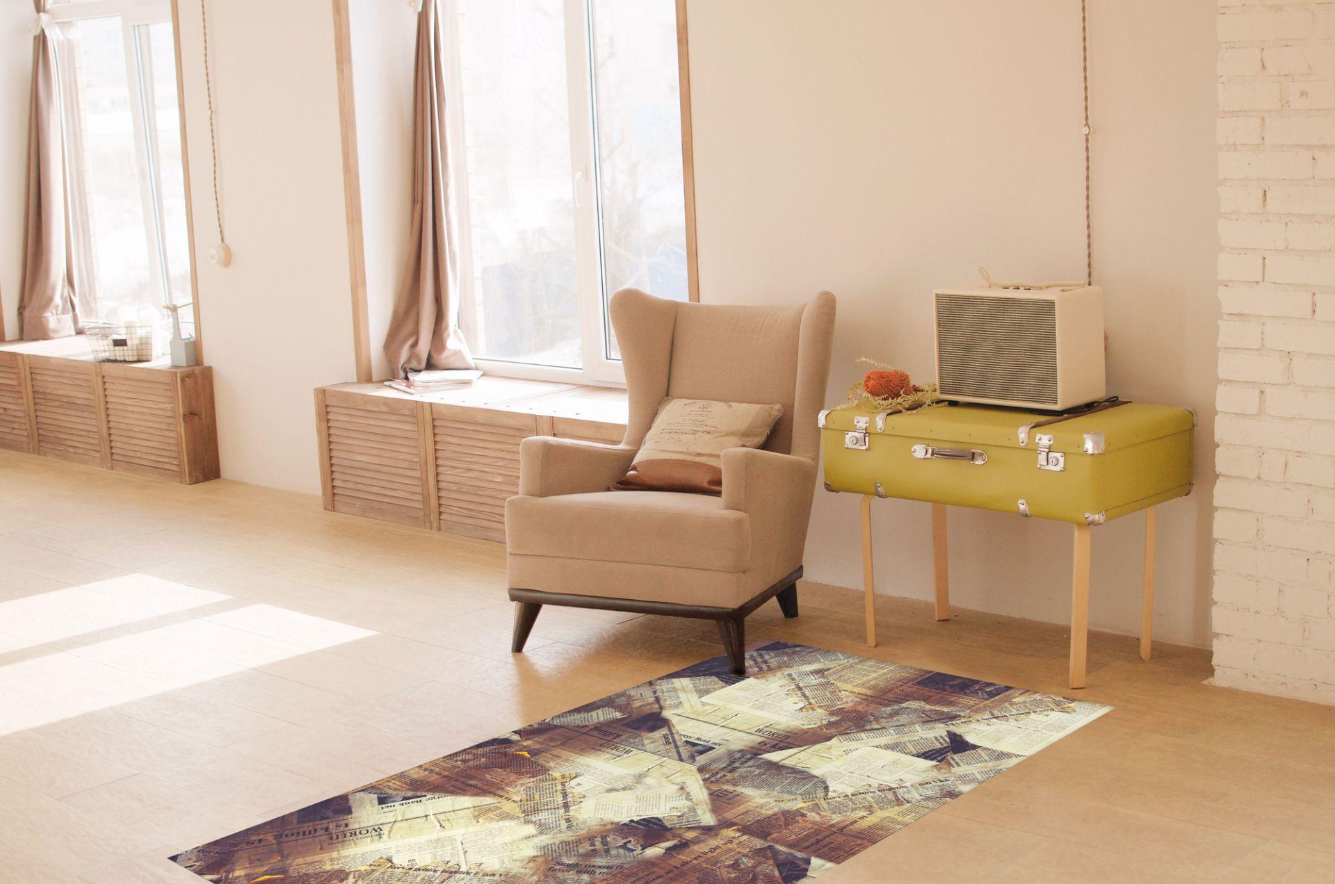 Matteo Vinyl Carpet Persian Contento 90x60 cm