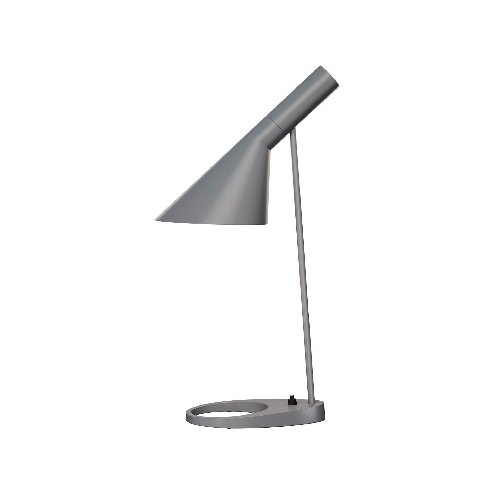 AJ table lamp dark grey Louis Poulsen
