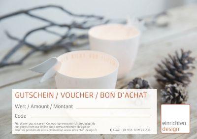 Gift coupon christmas
