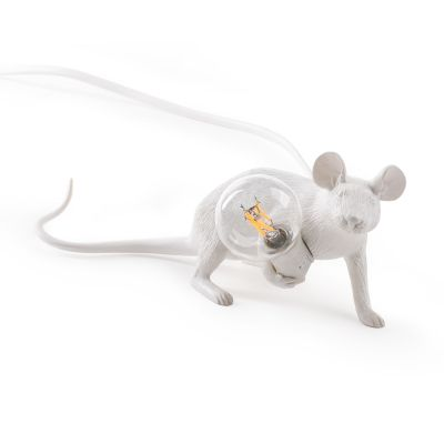 Mouse Lamp table lamp lie down Seletti