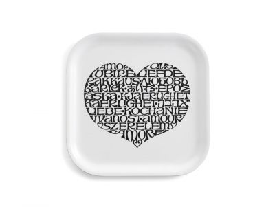 Classic Tray Small Tray Vitra International Love Heart black