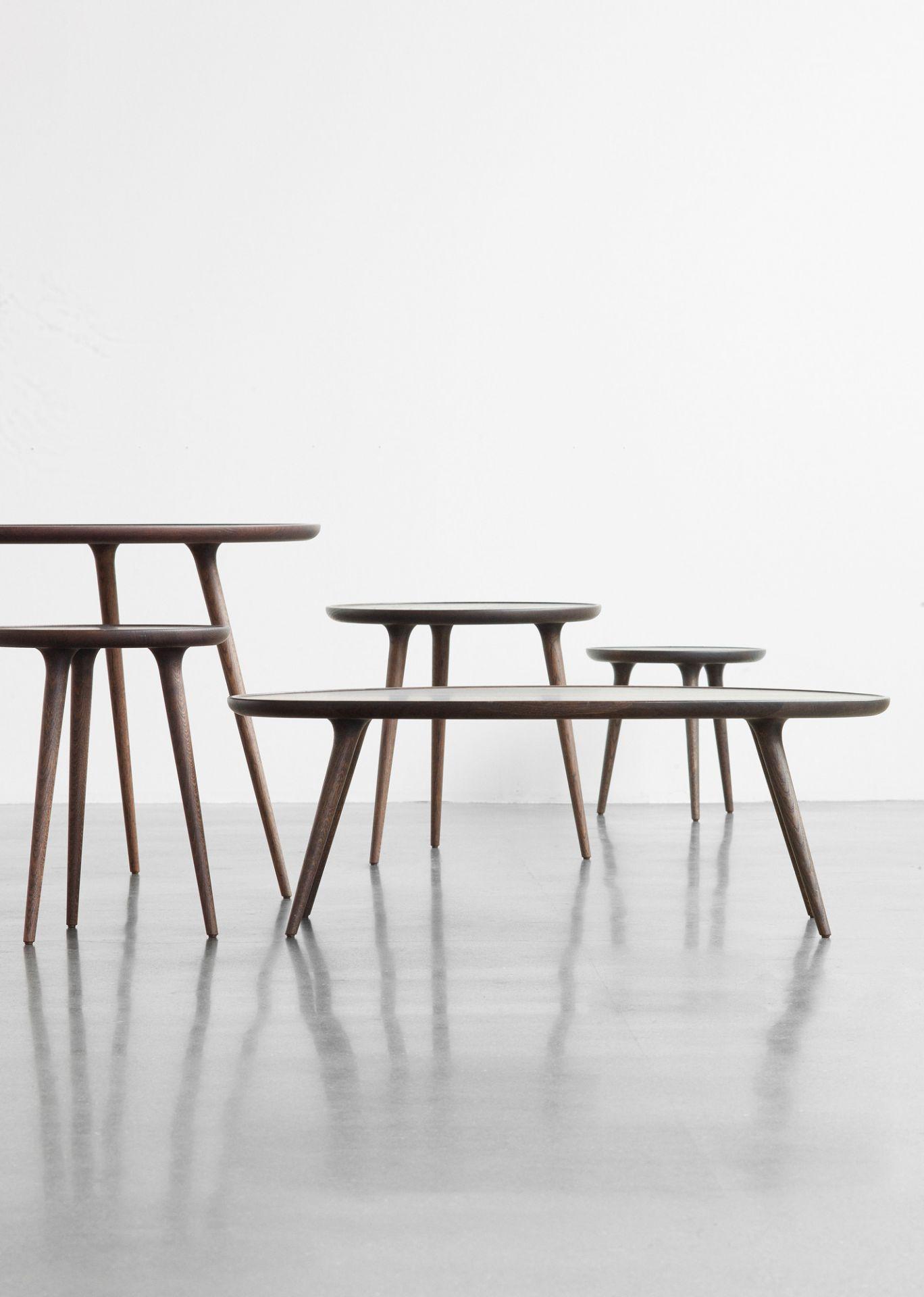 Accent Dining Table natural oak matt d 140 Mater