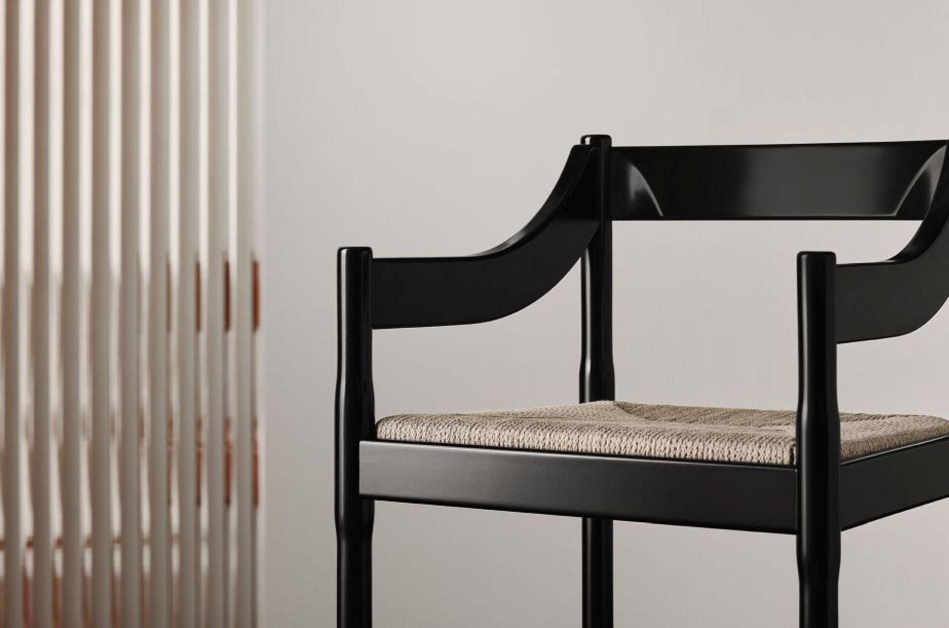 Carimate Chair Special Editio black Fritz Hansen LIMITED EDITION