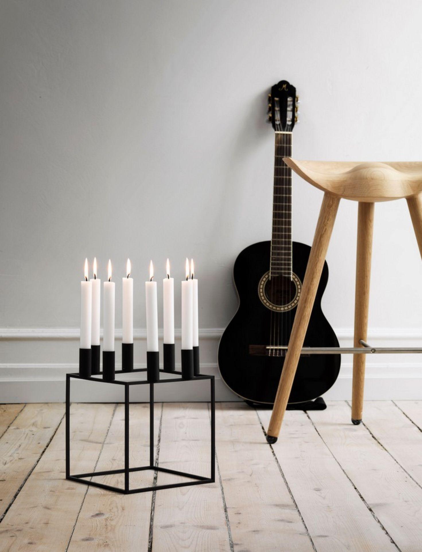 Kubus 8 candleholder by Lassen