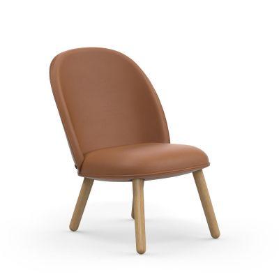 Ace Lounge Chair oak Normann Copenhagen Ultraleather
