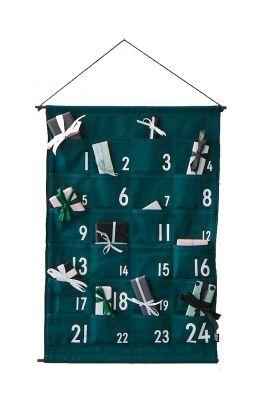 Christmas Calendar Design Letters