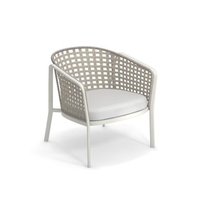 Carousel 1217 Outdoor Lounge chair Emu White / Melange Ivory