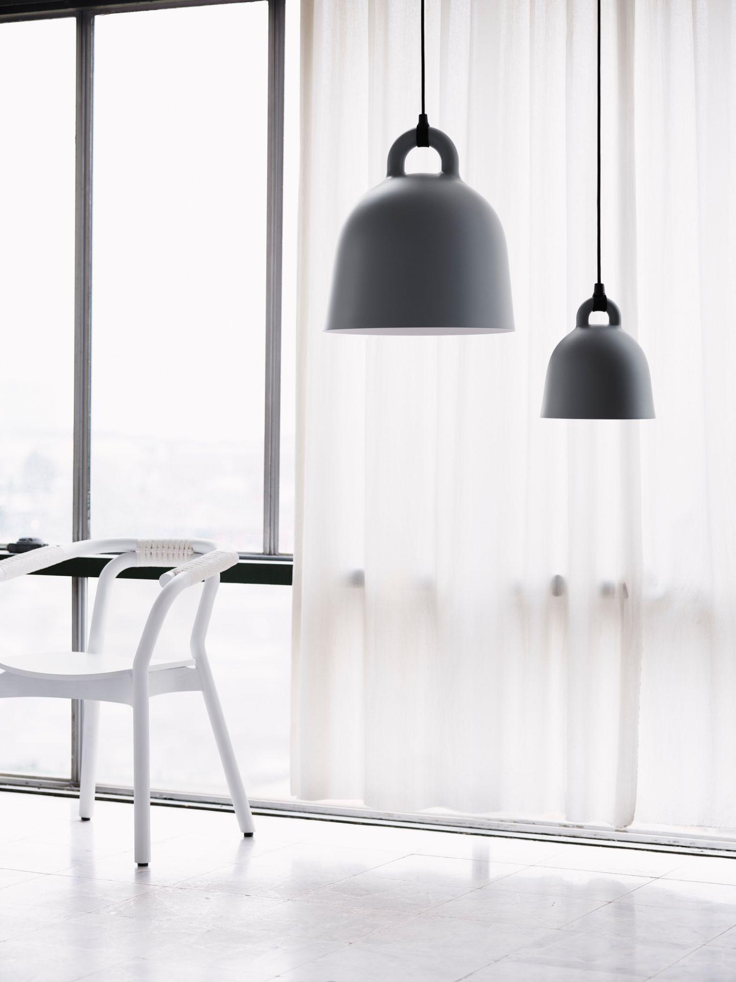 Bell Lamp Pendant light Normann Copenhagen Sand Ø 35 cm