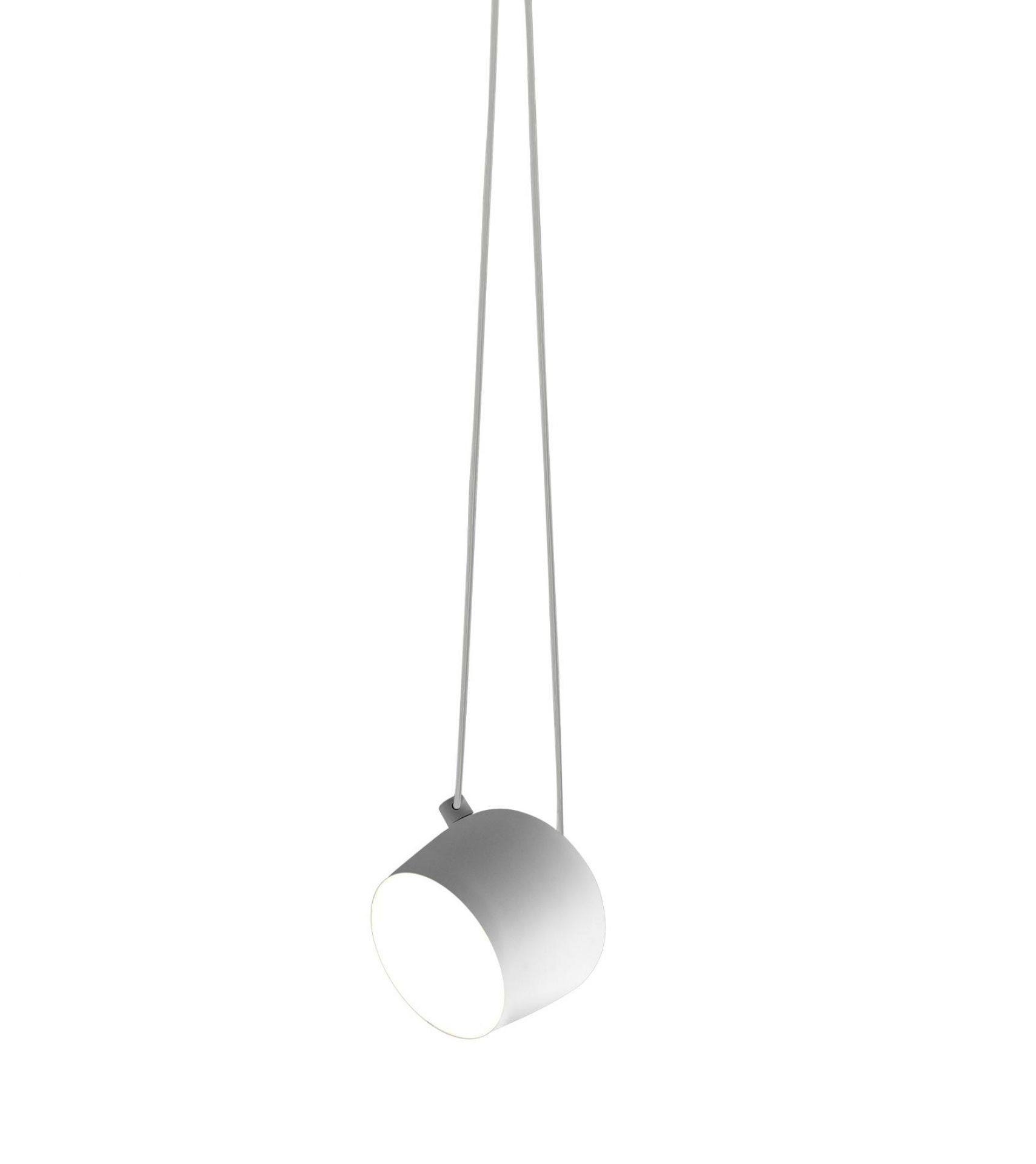 Aim Small Pendant light Flos White with dimmer